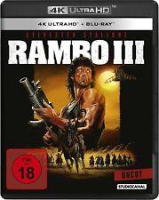 RAMBO III (Sylvester Stallone) 4K Ultra HD + Blu-ray Disc NEU+OVP