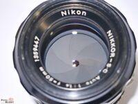 Nikon Nikkor SC 1,4/50mm mit Sony-E Anschluss (NEX) für Alpha 7 und APS-C Sensor