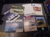 Anciens Catalogues Voiture Camion 4x4 UMM Jeep Bus Mercedes Peugeot Saviem BMW
