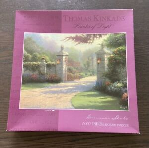 Thomas Kinkade Puzzle 1000 Pieces Summer Gate
