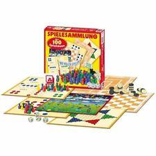 Spielesammlung 100 Spiele Spielmöglichkeiten Familienspiel Brettspiel Mühle Dame