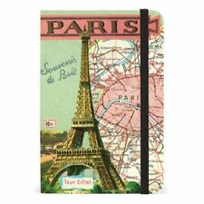 Cavallini - Small Lined Pocket Notebook 4x6ins - Vintage Paris - 256 Pages