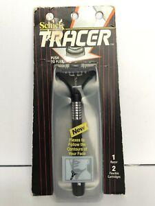 Schick Tracer Razor Blade Handle Shaver w/Refill