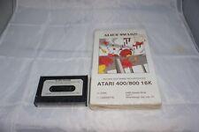 Alien Swarm Atari 400/800 Tape with Box