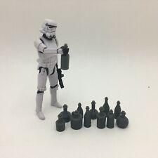 10 Custom Wine Liquor Bottles for 3.75 inch figure Gi Joe Star Wars Diorama