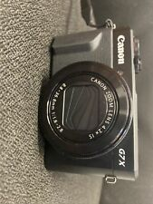 Canon PowerShot G7 X Mark II Digital Camera (no Charger)