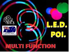 All new LED Glow POI multi-function, soft ball, bright full colour.