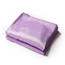 100% Silk Pillowcase Solid Light Purple Color PC18