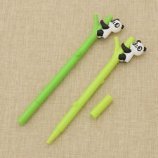 Kawaii Bamboo Panda Gel Pen Kawaii Writing Pens Stationery School Office Supply