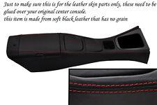 red stitch FITS MAZDA MX5 MIATA MK2 01-05 CENTRE CONSOLE & ARMREST COVERS