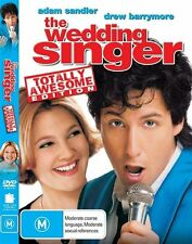 The Wedding Singer (1997) Adam Sandler, Drew Barrymore - NEW DVD - Region 4