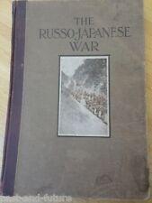 "THE RUSSO-JAPANESE WAR  16"" X 11"" FOLIO 1904 PF COLLIER & SON"
