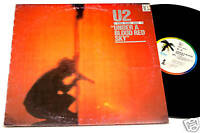 U2:LP-UNDER A BLOOD..(LIVE)ORIG.ITALY PALM LABEL EX+