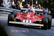 Clay Regazzoni Ferrari 312T Spanish Grand Prix 1975 Photograph