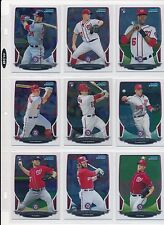 2013 BOWMAN CHROME NATIONALS 10 CARD TEAM SET HARPER KARNS RENDON RC STRASBURG