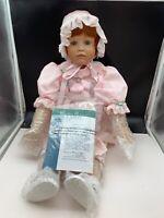 sitzend Orchidee-Puppenkörper Marion für Puppengröße 50 cm