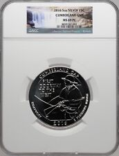 2016 5oz Silver Cumberland Gap NGC MS 69 PL Parks Label Proof Like must see!