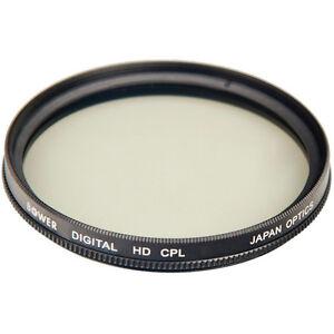 Bower 55mm Digital High-Definition Circular Polarizer Lens Filter