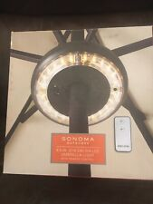 Sonoma Outdoor Led Umbrella Light 8 In. Led With Remote Control New In Box