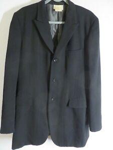 COMME des GARCONS Homme Plus Jacke Sakko Gr. L / 50 schwarz Made in Japan