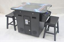 Arcade Cocktail Sitdown 412 game in 1 Machine -Black Cabinet