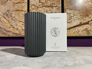 SALE 25 % Lyngby Vase, 20 cm, schwarz, matt