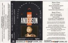 ANGRY ANDERSON - BEATS FROM A SINGLE DRUM.   *RARE CASSETTE TAPE*