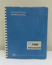 Tektronix 7503 Oscilloscope Instruction Manual 0250