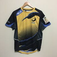 Western Force BLK Rugby 2015 Training Jersey Mens Medium