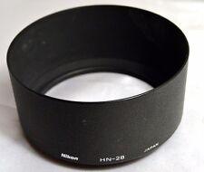 Original Nikon HN-28 lens hood screw in type AF Nikkor 80-200mm f2.8 ED Genuine