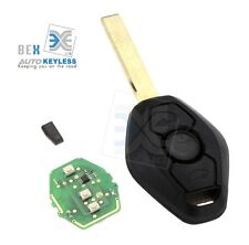 315MH Remote Replacement Entry Keyless Fob Transmitter Chip Notch Blade For E46