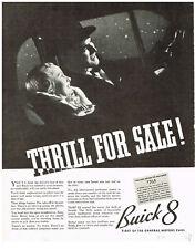 Buick 8 Car Automobile & Texaco Gasoline Gas Magazine Advertisments Vintage 1936