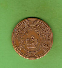 #D319. 1985  SHIRE OF BELLARINE 150th 1835 to 1985 VICTORIA  BRONZE  MEDAL