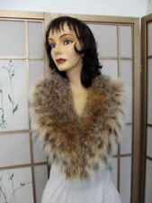BRAND NEW MONTANA LYNX FUR COLLAR SHAWL WOMEN