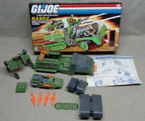 "Vintage 1986 3 3/4"" GI Joe H.A.V.O.C. Vehicle With Box"
