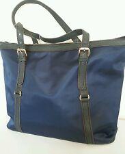 Women's SHOULDER BAG ROYAL BLUE Straps Large Nylon adjustable straps