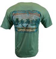 NEWPORT BLUE Mens T Shirt Hawaiian Island Permanent Vacation Aloha Surf Beach