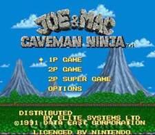 Joe & Mac - SNES Super Nintendo Game