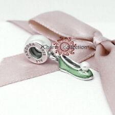 Pandora, Disney, S925, Tinker Bell's Pearl Shoe Pendant  Charm, NEW, 792139EN93