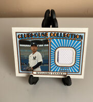 2021 TOPPS HERITAGE CLUBHOUSE COLLECTION MASAHIRO TANAKA YANKEES JERSEY RELIC