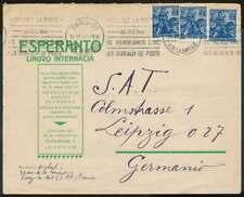 Frankreich 1929, ESPERANTO Brief PARIS nach LEIPZIG (71630)