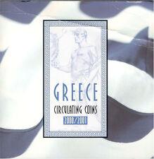 Grecia KMS 2000 2001 (Olympia monete)