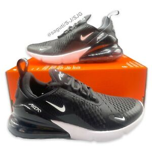 Nike Air Max 270 W Black White Running Shoes Women's Size 8.5 New AH6789-001