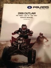2009 Polaris Outlaw  ATV 450 MXR, 525S, 525 IRS Service Manual  PN: 9921810