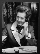 """Barbara Castle MP Labour Blackburn- Original 1970's Press Agency Photo 7 x 5"""" 3"""