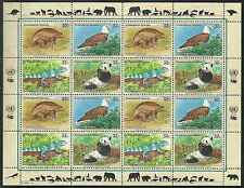Timbres Animaux Nations Unies New York F 669/72 ** année 1995 lot 4164