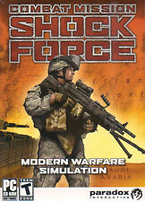 COMBAT MISSION SHOCK FORCE Modern Warfare PC Game NEW!