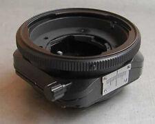 Unique TILT / SHIFT adapter for Pentacon 6 lenses - to Canon EOS cameras, BR.NEW