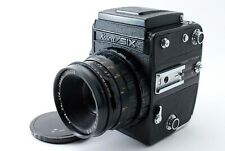 KOWA SIX 6x6 Medium Format CAMERA w/85mm F2.8 LENS Black [Excellent++] Japan