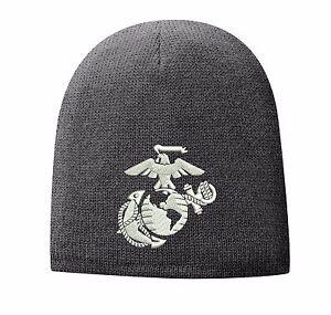 USMC United States Marine Corps - EGA Eagle Globe & Anchor Beanie Cap